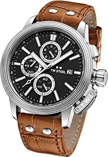 TW Steel Casual Watch For Men Analog Leather - CE7003