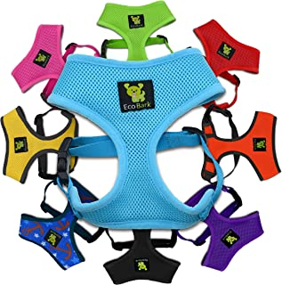 EcoBark Classic Dog Harness Soft Gentle No Pull & No Choke Dog Harnesses Double..