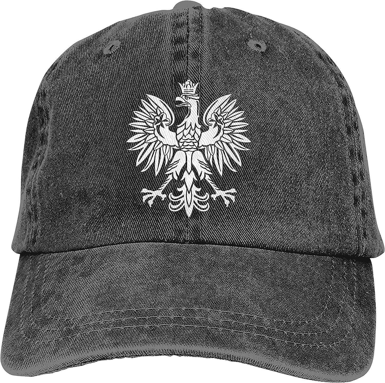 Denim Cap Polska Eagle Poland Pride Baseball Dad Cap Classic Adjustable Sports for Men Women Hat