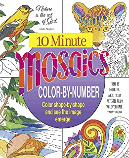 10 Minute Mosaics Color by Number