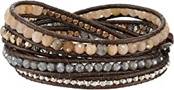 Chan Luu - Sunstone Mix Wrap Bracelet