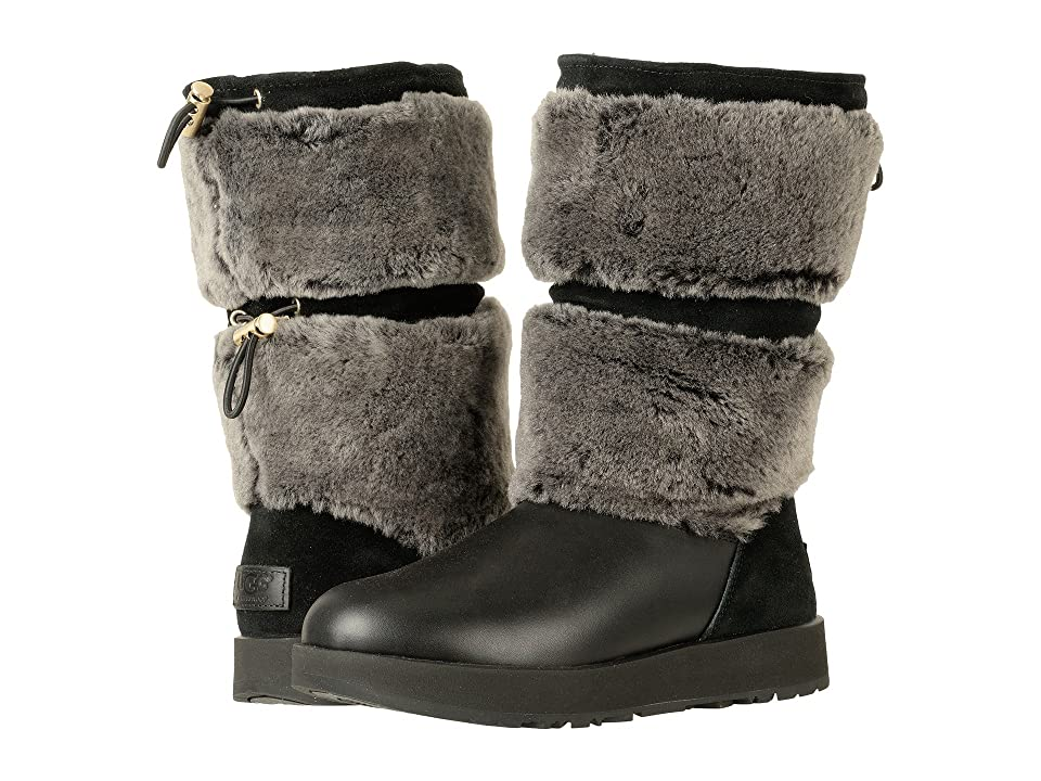 UGG Reykir Waterproof (Black) Women