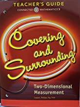 Connected Mathematics 3 - Covering and Surrounding: Two-Dimensional Measurement Teacher Guide, Common Core, 9780328900954, 0328900958