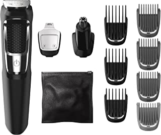 Sponsored Ad - Philips Norelco MG3750 Multigroom All-In-One Series 3000, 13 attachment trimmer