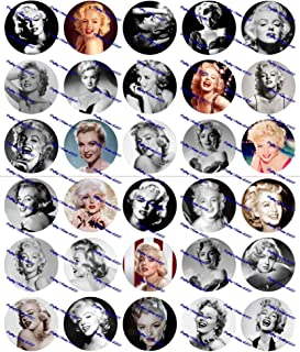 30 Precut Images Marilyn Monroe Set 2