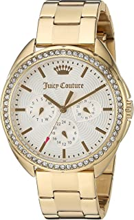 Juicy Couture Women's 'Capri' Quartz Tone and Gold-Plated Quartz Watch(Model: 1901479)