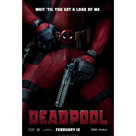 PRM027 Marvel Dead Pool Movie Poster Glossy Finish Posters USA