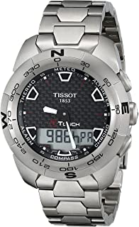 Men's T0134204420100 T-Touch Expert Titanium Watch