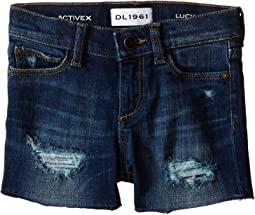 DL1961 Kids - Lucy Cut Off Shorts in Orbit (Toddler/Little Kids)
