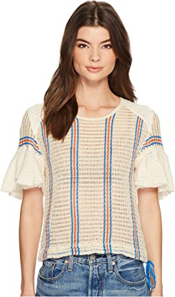 Free People Babes Only Tee Striped