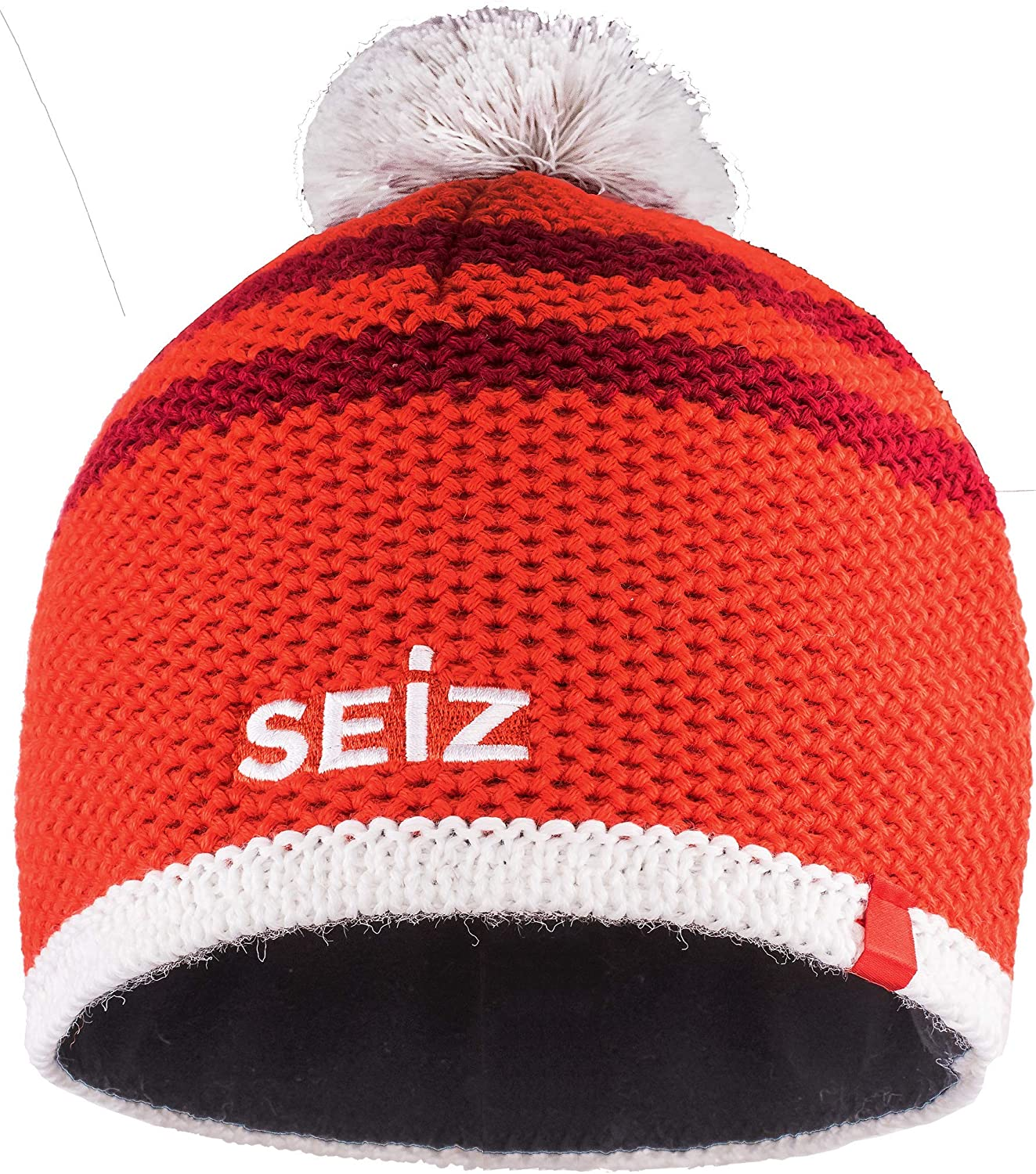 SEiZ Unisex – Adults' Knitted 90060003 Rt Max 79% OFF Discount mail order SRT Beanie