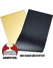 レベルロイヤル(Revel Royal) スケートボード スケボー デッキ テープ 9x33インチ 空気抜き穴付き ブラック グリップテープ SKATEBOARD GRIPTAPE