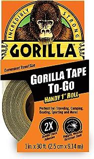 Gorilla 3044401 Tape Handy Roll, 1 Pack, Black