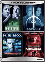 Christopher Lambert Quadruple Feature Adrenalin, Beowulf, Fortress, Nirvana