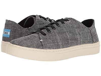 TOMS Lenox (Black Textured Chambray) Women