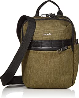 PacSafe Men's Metrosafe X Anti Theft Vertical Crossbody, Utility (Green) - 30620517