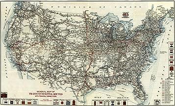 Best antique railroad maps Reviews