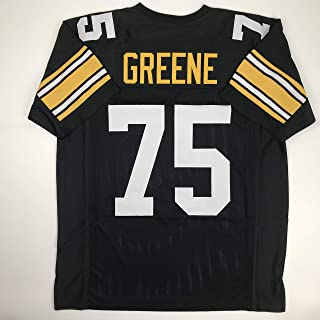 Unsigned Mean Joe Greene Pittsburgh Black Custom Stitched Football Jersey Size Men's XL New No Brands/Logos