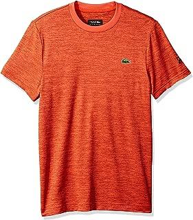 Lacoste Men's Sport Djovokic Short Sleeve Technical Heather Jersey T-Shirt