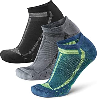 Low-Cut Running Socks for Long Distances, for Men & Women, Anti-Blister, Padded, Arch Support, Trainer & Athletic, Sweat W...