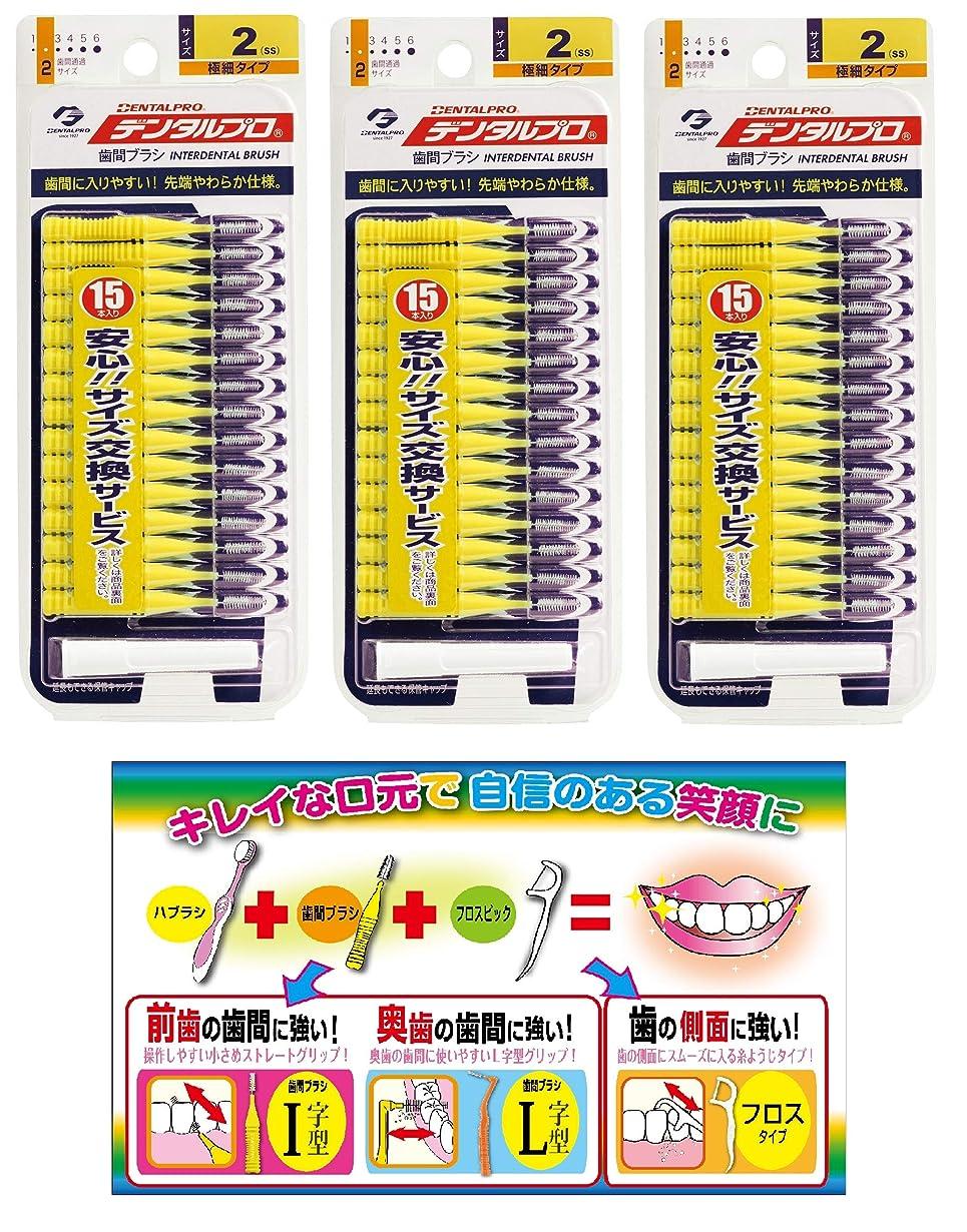 脈拍健全店主【Amazon.co.jp限定】DP歯間ブラシ15P サイズ2 3P+リーフレット