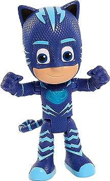 PJ Masks- Gatuno Súper Figura con Voz, Color Azul (Bandai ...