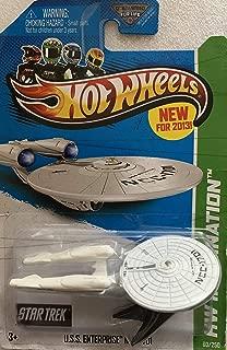 Hot Wheels 2013 Hw Imagination - Star Trek - USS Enterprise NCC-1701 [Toy]