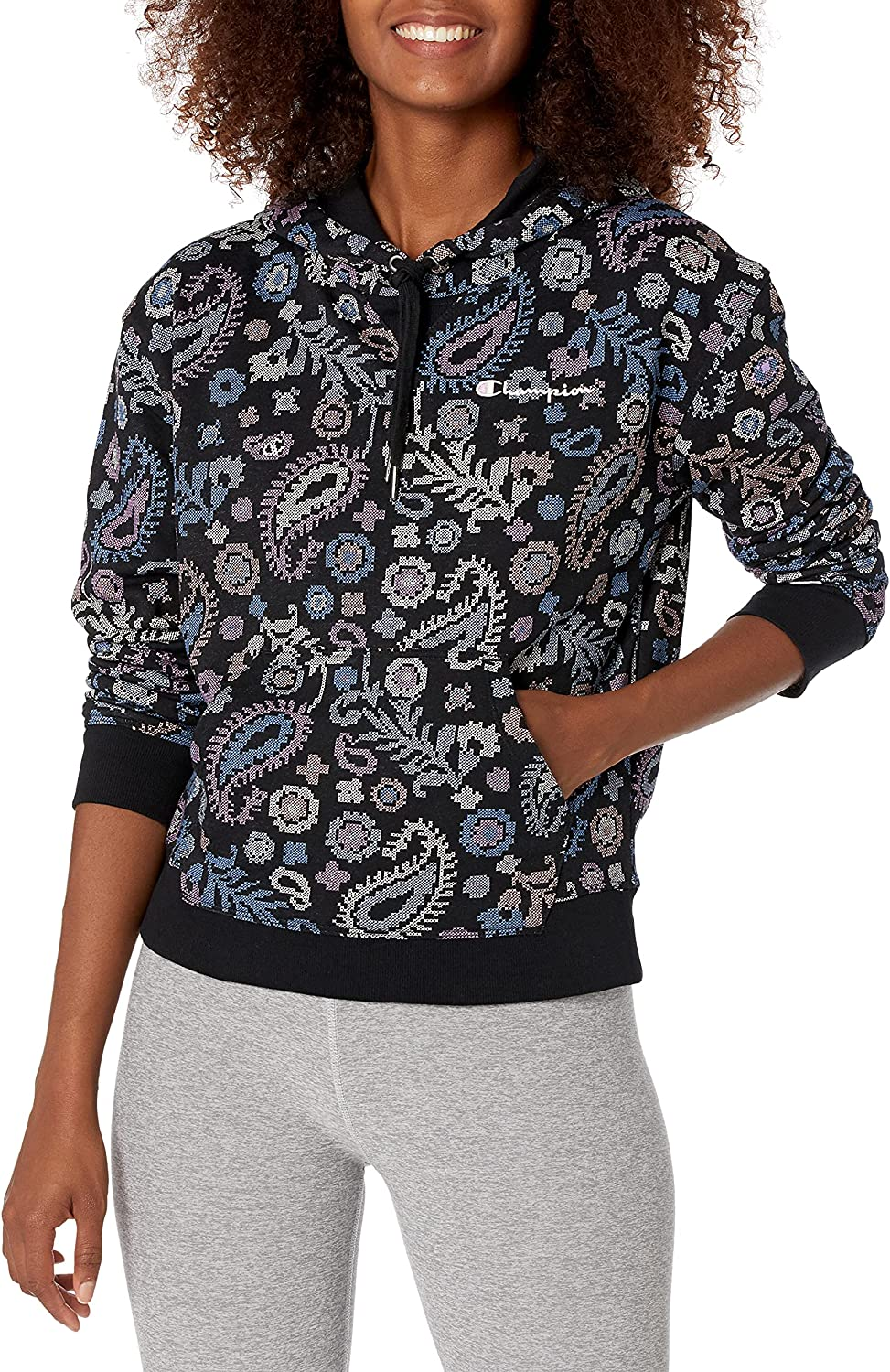 Champion Women's Max 87% OFF Campus Hoodie French Terry Max 75% OFF