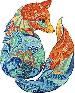 AAGOOD Puzzles en Bois, 300 pièces de Puzzle en Forme d'animal de Forme Unique pour Adultes et Enfants, idéal pour la Coll...