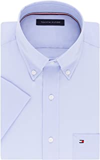 Tommy Hilfiger Men's Short Sleeve Button-Down Shirt