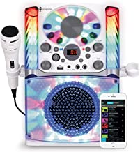 Singing Machine SML625BTW Bluetooth CD+G Karaoke System White