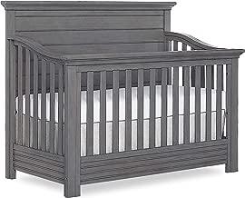 Evolur Waverly 5 in 1 Full Panel Convertible Crib, Rustic Grey