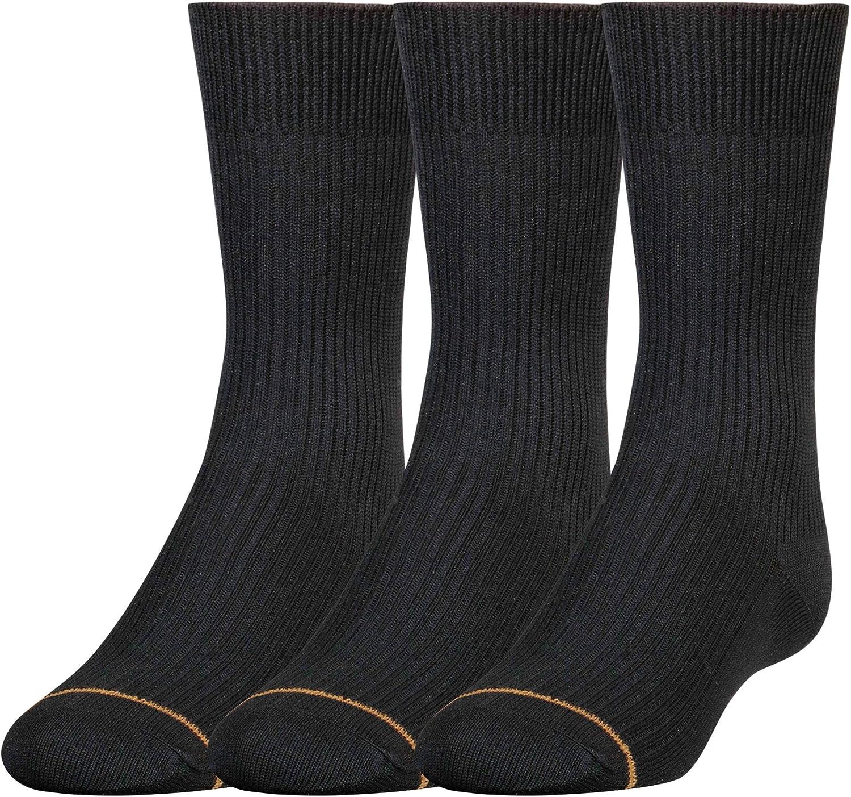 Gold Toe Boys Microfiber discount Tucson Mall Socks 3-Pairs Crew Dress