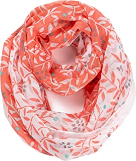 Girls Soft Infinity Scarf Lightweight Toddler Loop Cute Scarves for Women Boys by A Sund