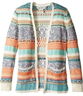Billabong Kids - Stitches Over You Cardigan (Little Kids/Bigs)