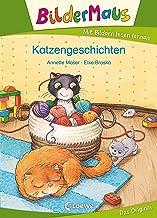 Bildermaus - Katzengeschichten: Mit Bildern lesen lernen - Ideal für die Vorschule und Leseanfänger ab 5 Jahre (German Edi...
