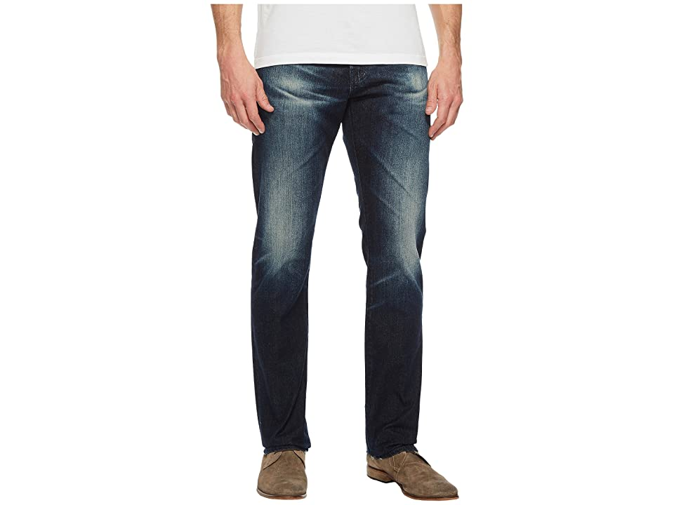 Image of AG Adriano Goldschmied Everett Slim Straight Leg Denim in 3 Years Trentwood (3 Years Trentwood) Men's Jeans