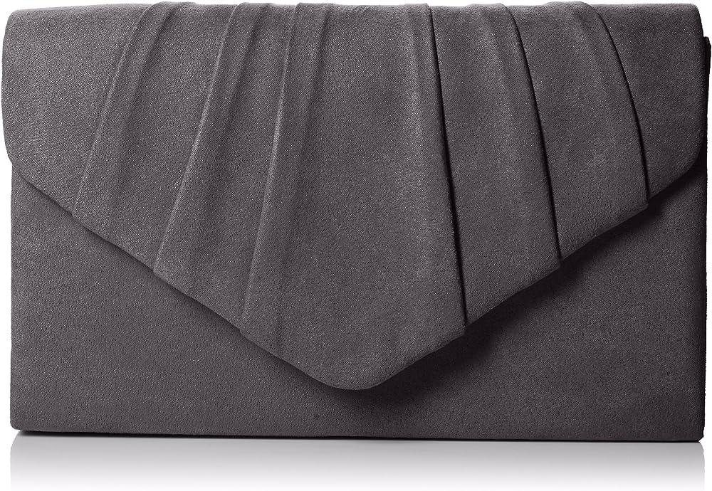 Swankyswans, pochette, borsetta da donna a tracolla, in pelle sintetica W308A