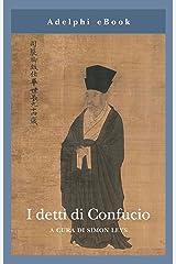I detti di Confucio (Italian Edition) Format Kindle