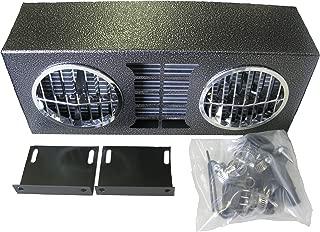 30,000 BTU High Output Auxiliary Heater 12 Volt Dual Wheel Blower Truck Universal