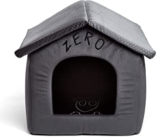 Disney Nightmare Before Christmas Zero Portable Pet House Dog Bed/Cat Bed with Detachable Top, Embroidery, Machine Washabl...