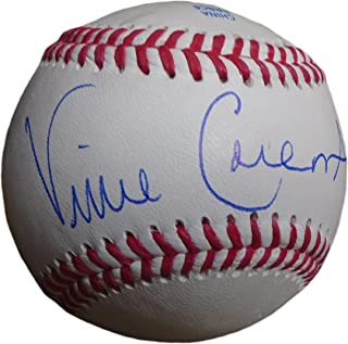 St. Louis Cardinals Vince Coleman Autographed Hand Signed Baseball with Proof Photo of Signing and COA, New York Mets, Kansas CIty Royals, Seattle Mariners, Detroit Tigers, Cincinnati Reds