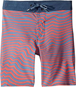 Mag Vibes Elastic Boardshorts (Little Kids/Big Kids)