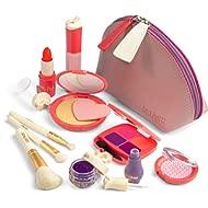 Litti Pritti Pretend Makeup for Girls - 11 Piece Play Makeup Set- Realistic Toys Makeup Set for...