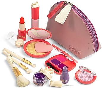 Litti Pritti Pretend Makeup for Girls - 11 Piece Play Makeup Set- Realistic Kids Makeup kit for Girl (Imitation - not...