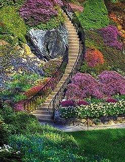 Springbok's 350 Piece Jigsaw Puzzle Garden Stairway - Made in USA