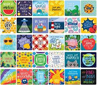 bloom daily planners Lunch Box Note Card Deck - Cute Sentimental Quote Cards for Kids - Set of Thirty 3