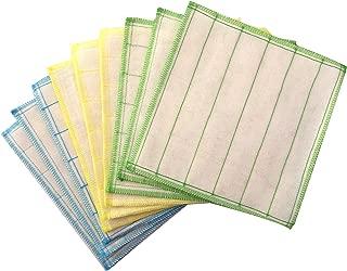 Silverstar 100% Wood Fiber Cleaning Cloth, Dish Cloth,Best Kitchen Cloths, 9-pack, 30cm X 30cm
