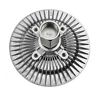 ADIGARAUTO 2748 Premium Engine Cooling Fan Clutch Compatible With Dodge Ram 1500 2002-2008 V6 3.7L V8 4.7L SOHC 5.9L OHV 2742