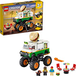 LEGO Creator - Monster Truck Hamburguesería, Juguete